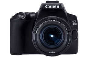 Canon 250d DSLR Camera with 18-55mm f/3.5-5.6 Kit Lens